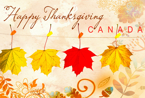 Happy Canadian Thanksgiving!