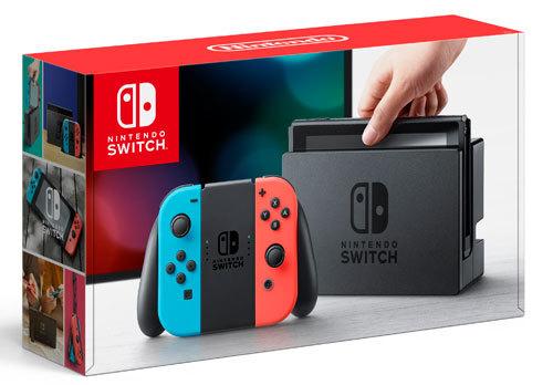 Nintendo Switch Hardware Boxing