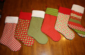 Preview christmas stocking pre