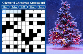 Preview christmas crossword pre