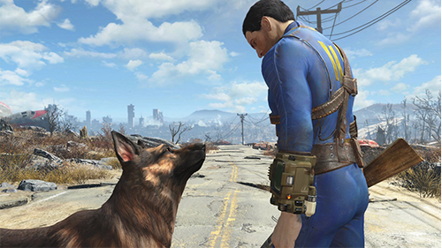 Fallout 4 is the latest game to get a Pro patch.