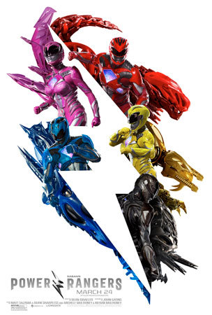 Saban's Power Rangers Poster