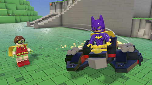 The Story Pack includes Robin, Batgirl, and the Batwing vehicle.