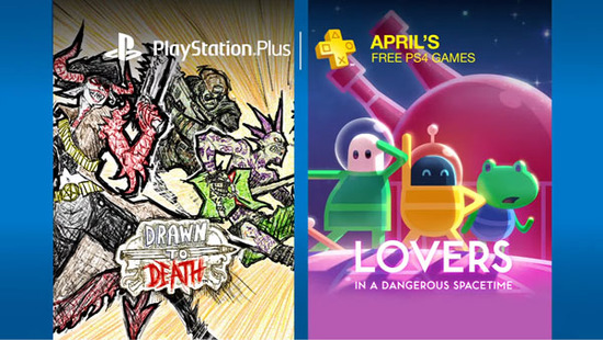 PlayStation Plus's PS4 lineup for April 2017.
