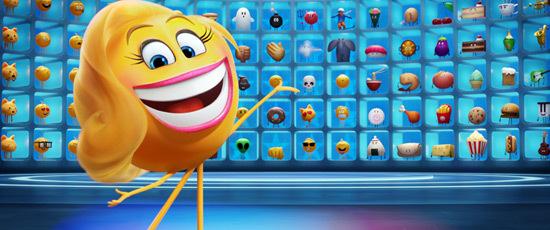 Smiler at the Emoji wall