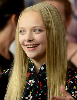 Amiah Miller at an Apes premiere