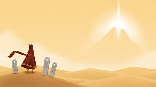 Journey is a beautiful game with an academy award nominated soundtrack.