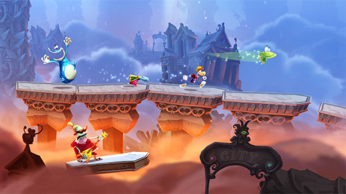 Rayman Legends is a highlight in Ubisoft's roster.