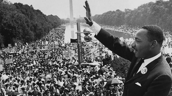Martin Luther King moved and helped many with his speeches