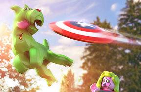 Preview lego marvel superhero champions pre