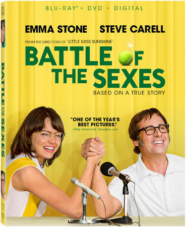 Battle of the Sexes Blu-ray Cover