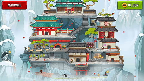 A traditional Scribblenauts sandbox gives you a chance to let your creativity run wild.