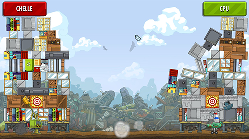Tower Topple is a fun competitive game despite not taking advantage of the main Scribblenauts game mechanic.
