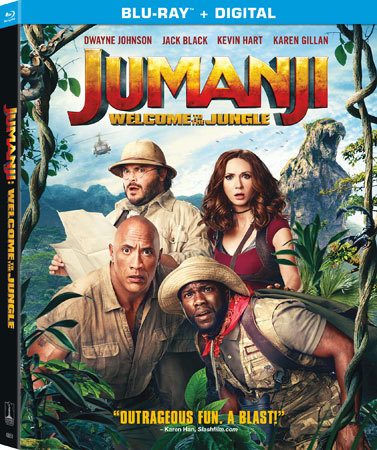 Jumanji: Welcome to the Jungle is available on Blu-ray and DVD March 20th