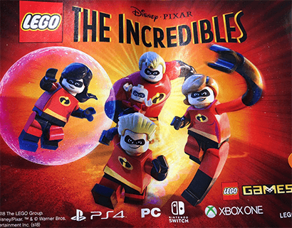 The leaked ad that revealed LEGO The Incredibles.