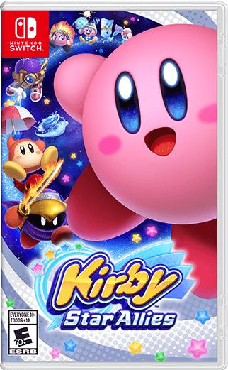 Kirby Star Allies Nintendo Switch Box Art