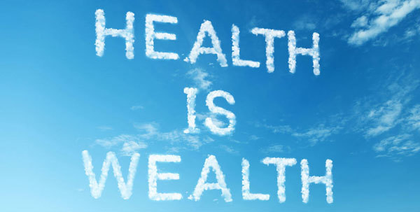 Health is more importan than wealth.