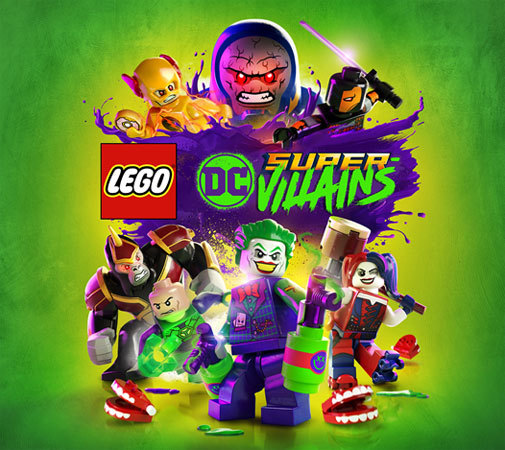 LEGO DC Super-Villains Video Game