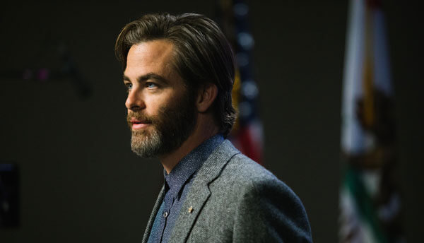 Meg's dad Alex (Chris Pine) has been missing four years