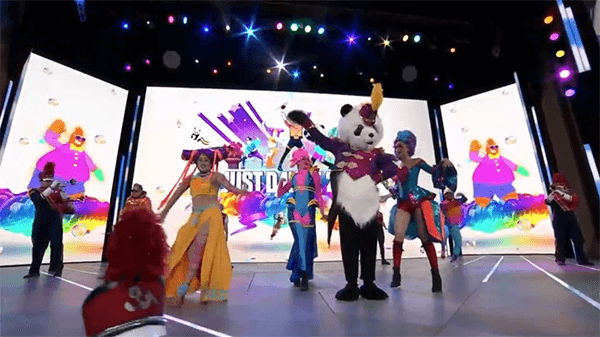 It was definitely a colorful opening.