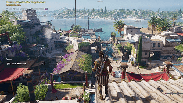 An early screen that leaked from the next Assassin's Creed.