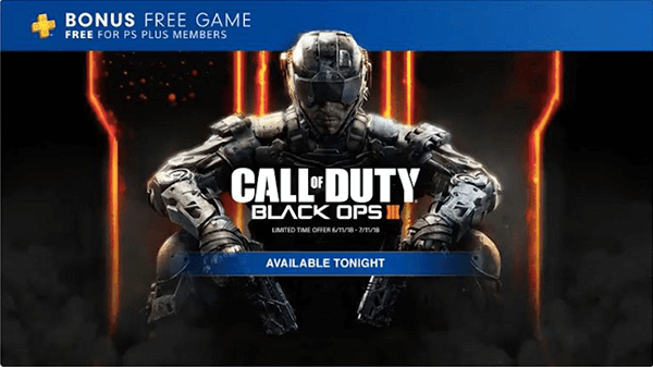 Black Ops 3 was added to this month's PlayStation Plus!