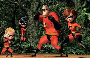 Preview the incredibles dvd pre