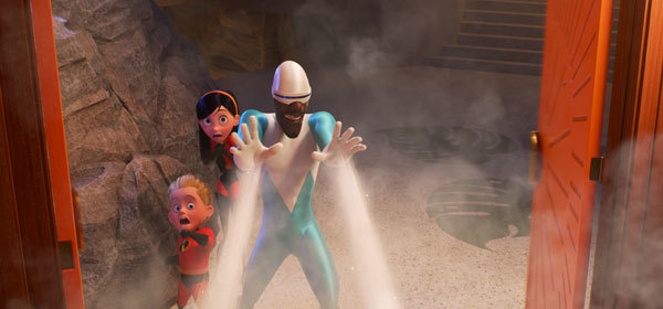 Frozone in action