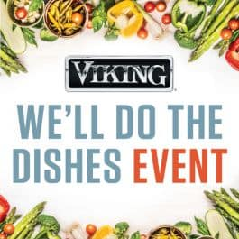 We'll Do the Dishes Event