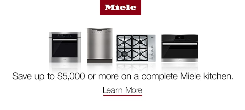 Save up to $5,000 or ore on a Complete Miele Kitchen