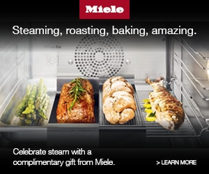 Free accessory set when you register your Combi-Steam Oven!*
