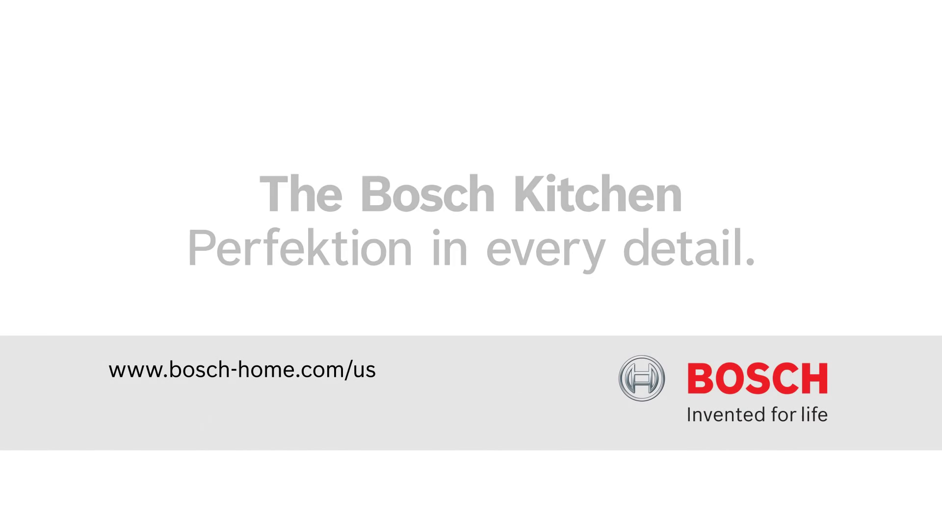 Bosch Benchmark FlexInduction Cooktops