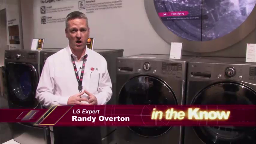 LG Appliances: Front Load Laundry