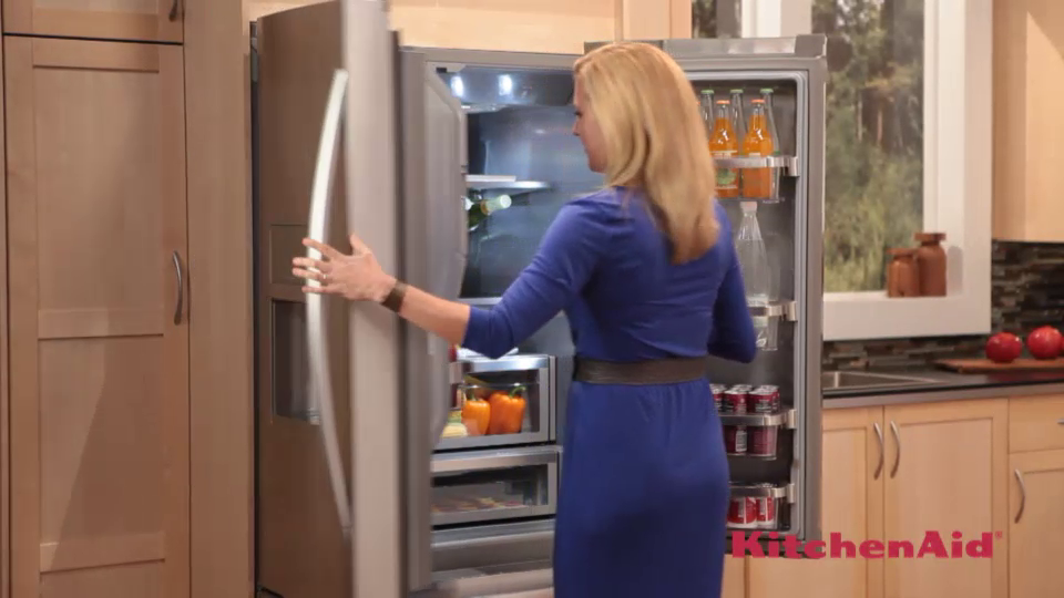 KitchenAid French Door Refrigerator   Kiefferu0027s AppliancesKiefferu0027s  Appliances