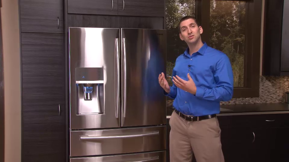Samsung: French-Door Refrigerators