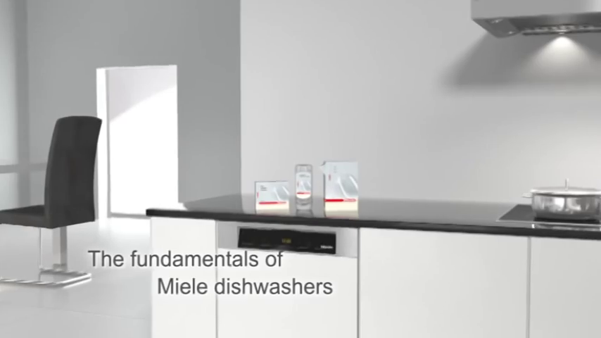 Miele: The fundamentals of Miele Dishwashers