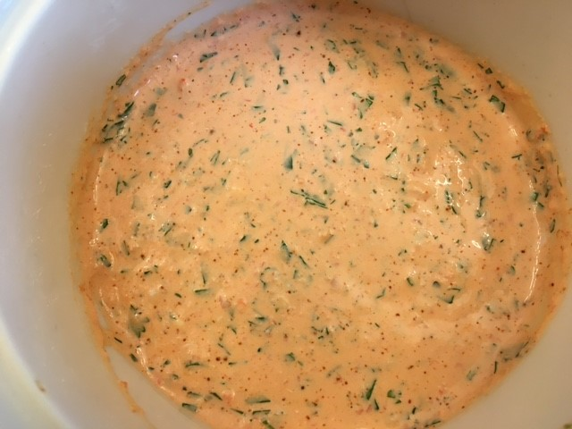 Red Pepper Mayo