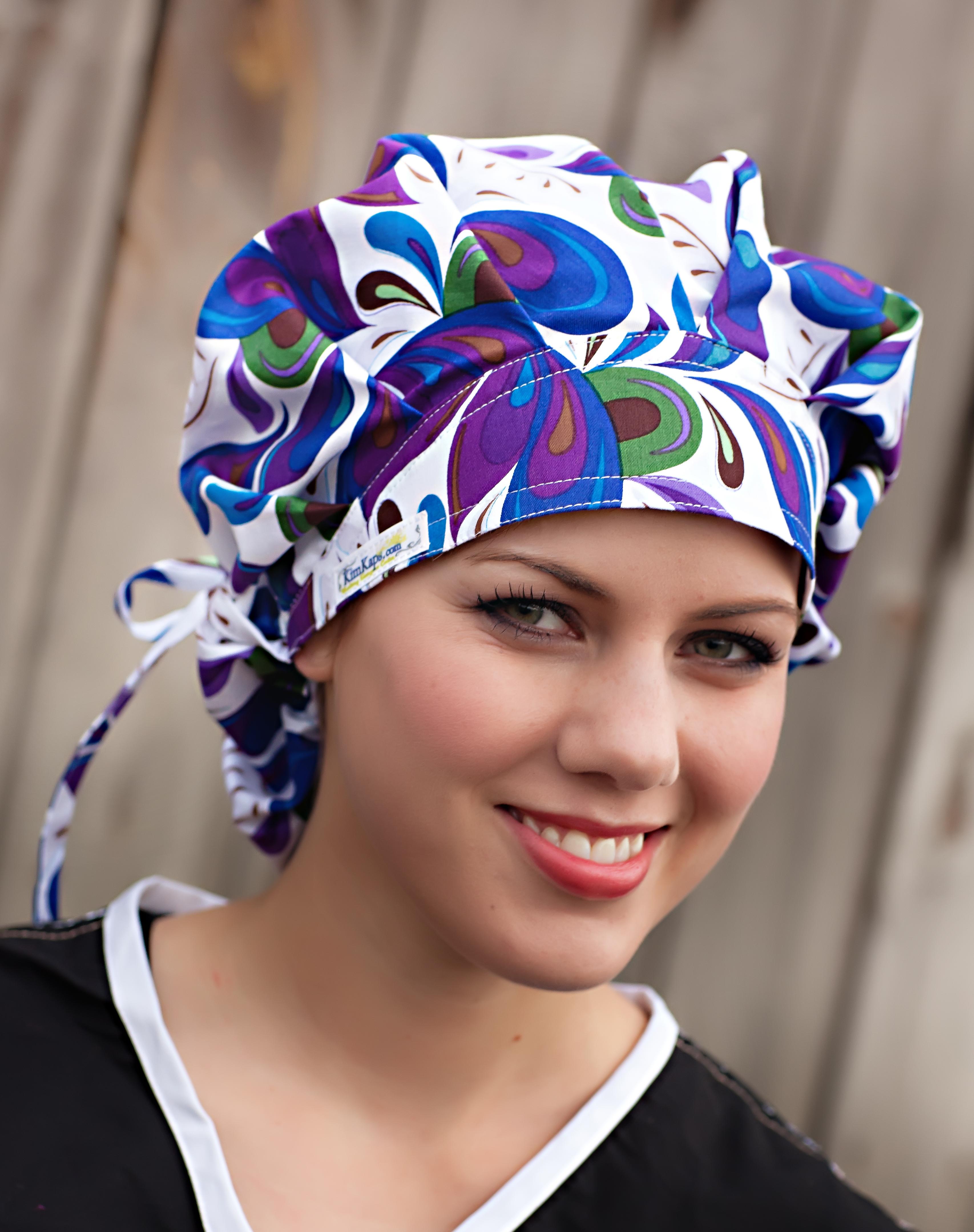 KimKaps Surgical Caps: Style 7