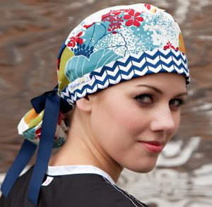 KimKaps Style 6 2t Surgical Scrub Hat