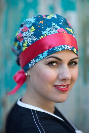 This scrub hat features a designer quality scrub cap and is handmade in the  USA from 100% cotton. Adding a dose of style to our style 8 hats by adding  this ... eee195881df4