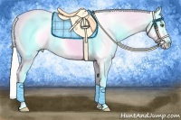 Horse Color:Silver Classic Champagne Pearl Appaloosa