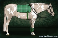 Horse Color:White Spotted Chocolate Palomino Pearl Frame