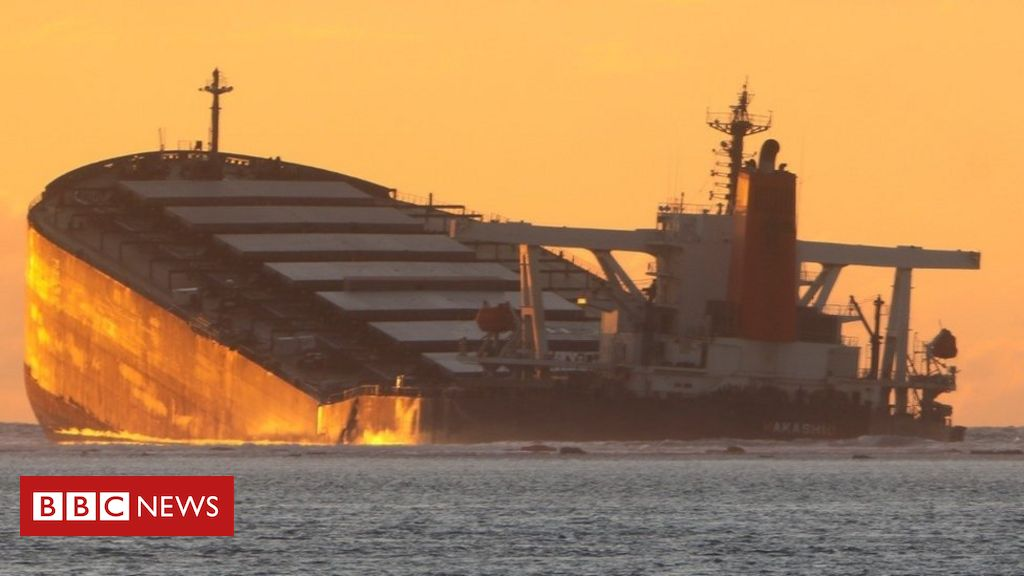 Mauritius oil spill: Rush to