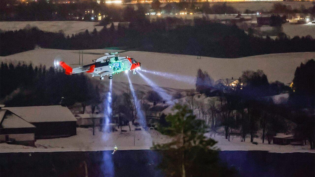 Norway landslide injures 10, about