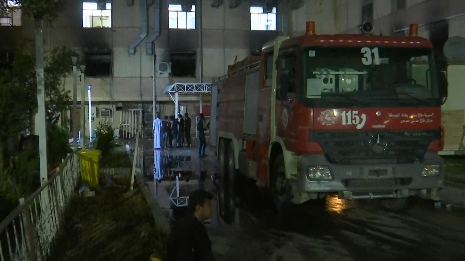 Fire kills dozens of COVID-19