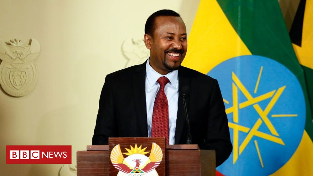 Ethiopia's Abiy Ahmed responds to