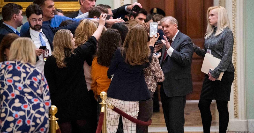 Senators Battle a Persistent Impeachment