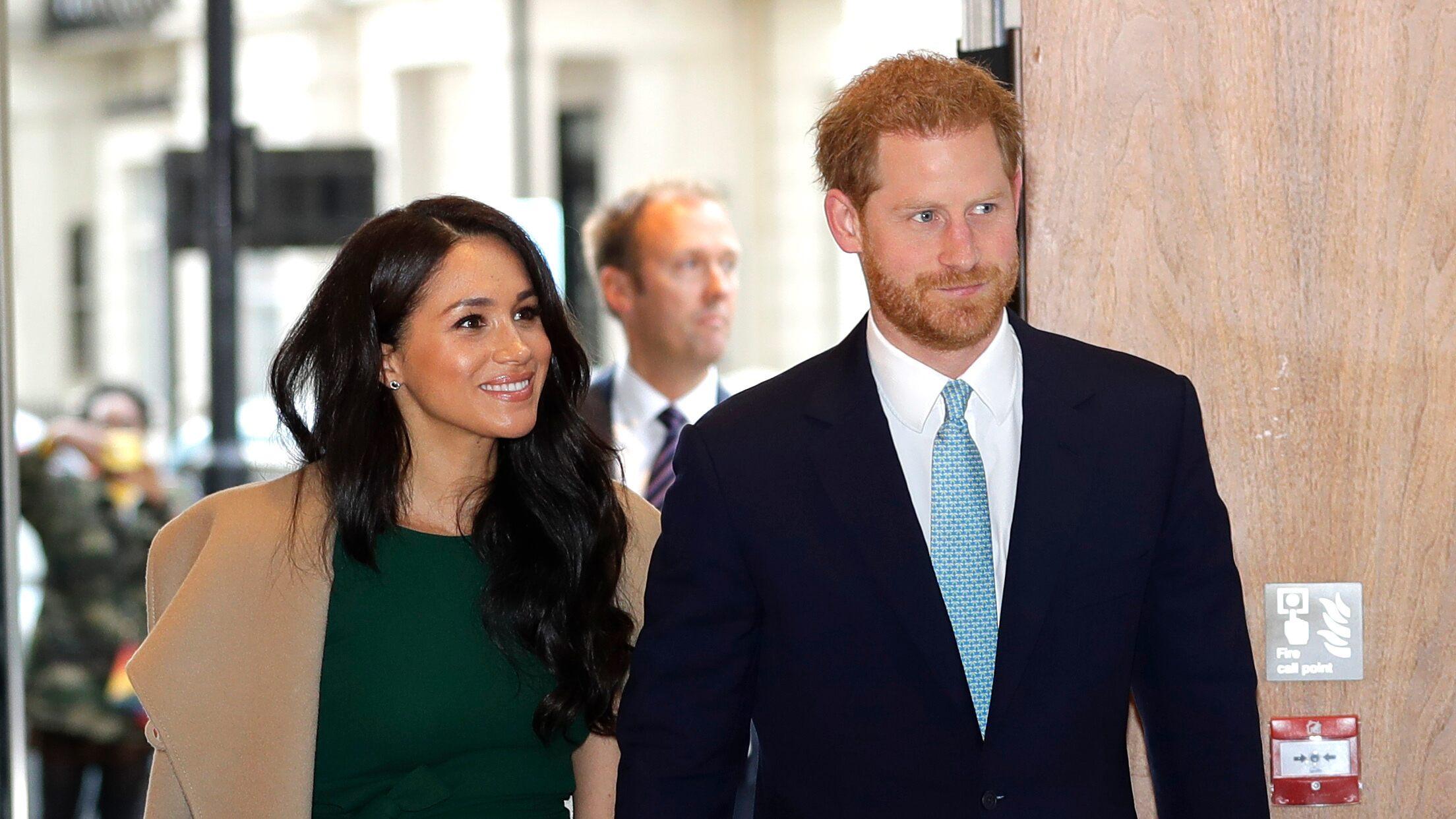 Meghan Markle, Prince Harry help