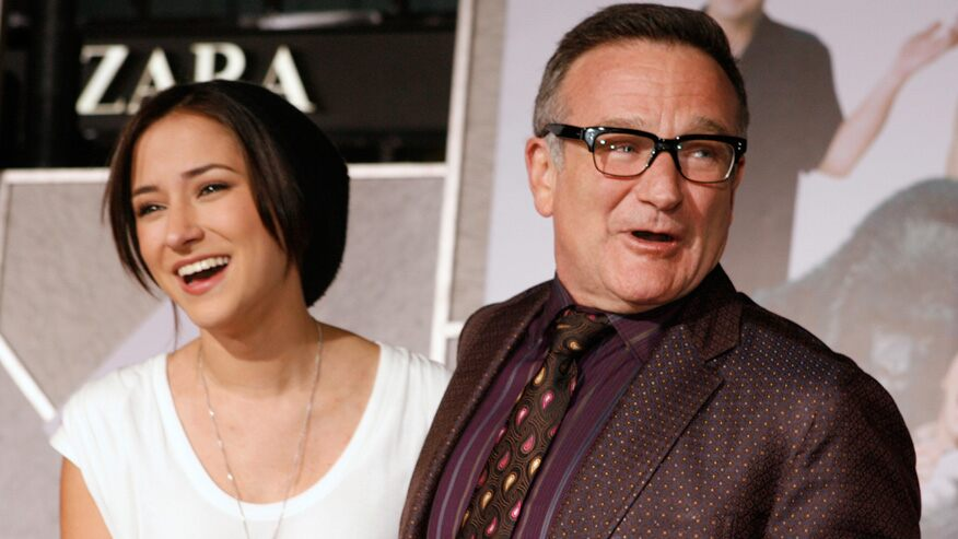 Robin Williams' daughter Zelda matches