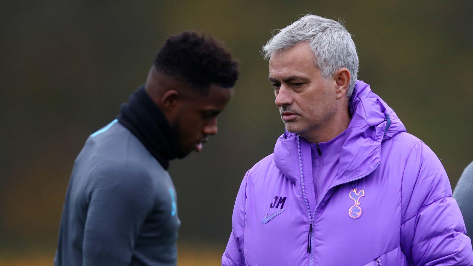 Jose to take Spurs training